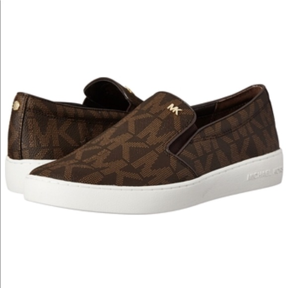 ac23abf29ab Michael Kors MK Keaton Slip-On Shoes 👑